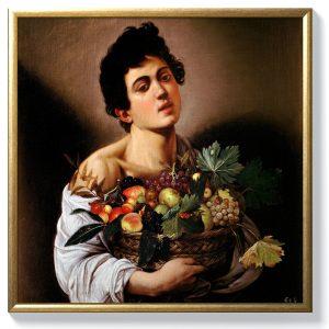 Караваджо – Момче с кошница плодове