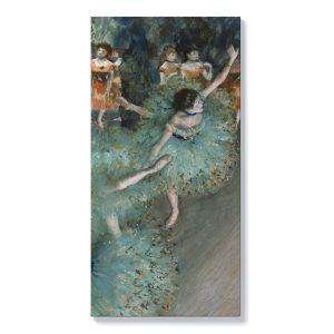 Едгар Дега – Танцьорка в зелено