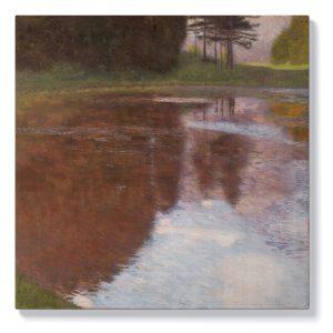 Густав Климт – Спокойно езеро
