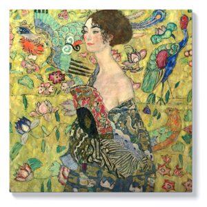 Густав Климт – Жена с ветрило