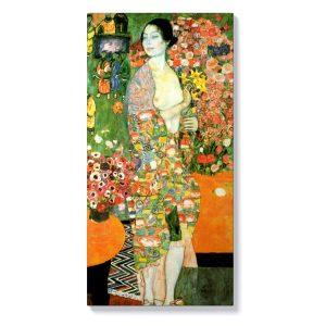 Густав Климт – Жена с цветя