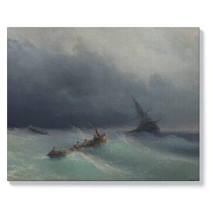 Иван Айвазовски – Буря в морето