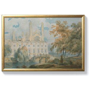 Джоузеф Търнър – Зала Клеър и катедралата на Кингс Колидж