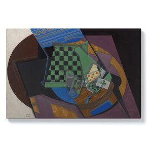 Хуан Грис – Шахматна дъска