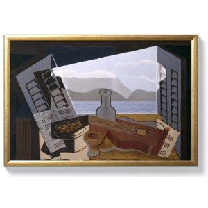 Хуан Грис – Отворен прозорец