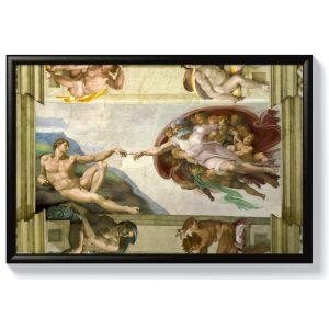 Микеланджело – Сътворението на Адам