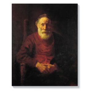 Рембранд – Портрет на старец в червено