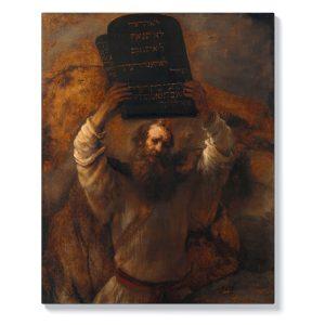 Рембранд – Мойсей с Десетте Божи заповеди