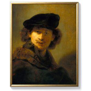 Рембранд – Автопортрет с кадифена барета