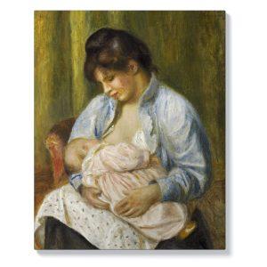 Пиер-Огюст Реноар – Кърмеща жена