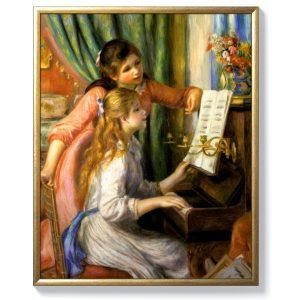 Пиер Огюст Реноар – Момичета с пиано