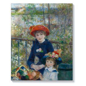 Пиер-Огюст Реноар – Две сестри на терасата