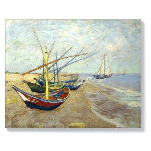 Ван Гог – Рибарски лодки в Сент Мари