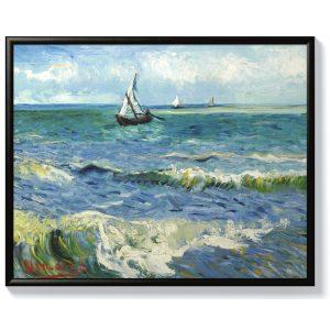Ван Гог – Морски пейзаж до Сент Мари