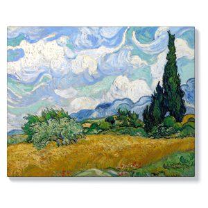 Ван Гог – Житно поле с кипариси