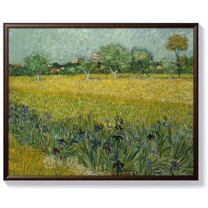 Винсент ван Гог – Поле с цветя край Арл