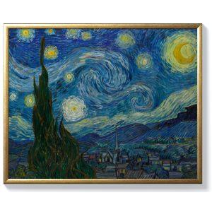 Винсент ван Гог – Звездна нощ