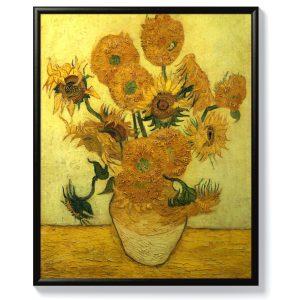 Ван Гог – Ваза с 12 слънчогледа