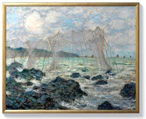 Клод Моне – Риболовни мрежи в Пурвил