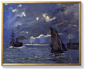 Клод Моне – Корабоплаване на лунна светлина