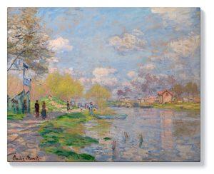 Клод Моне – Пролет край Сена