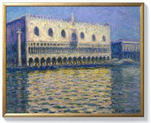 Клод Моне – Двореца на дожите