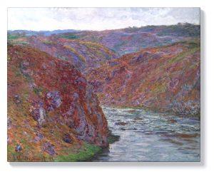 Клод Моне – Долината на Креза