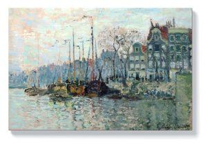 Клод Моне – Гледка от Кроме Ваал в Амстердам