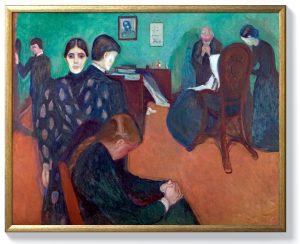 Едвард Мунк – Смърт в болничната стая