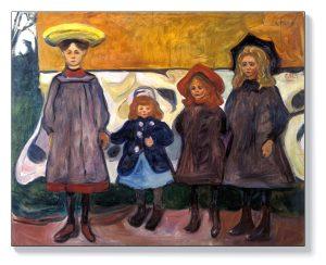 Едвард Мунк – Четири момичета