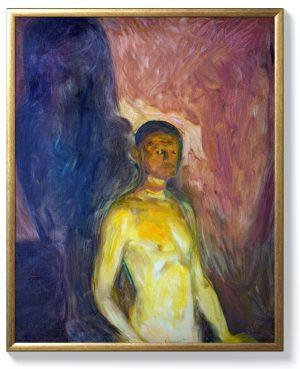 Едвард Мунк -Автопортрет в ада