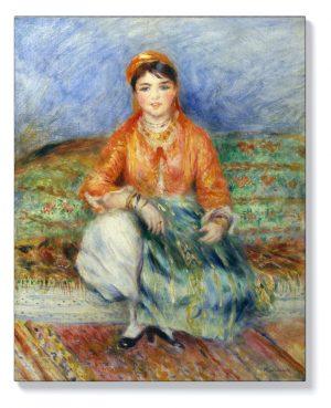 Реноар – Алжирско момиче