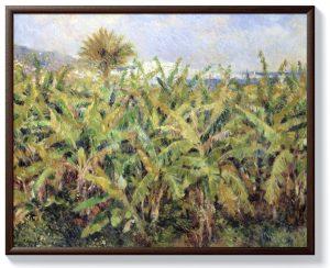 Реноар – Поле с бананови дървета
