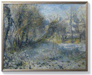 Реноар – Снежен пейзаж
