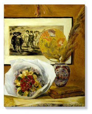 Реноар – Натюрморт с букет