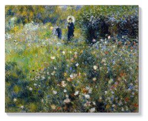Реноар – Жена с дете в градината