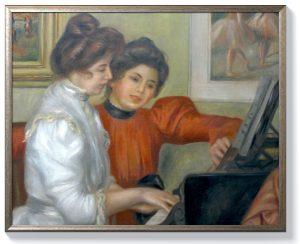 Реноар – Ивон и Кристин ла Рош на пианото