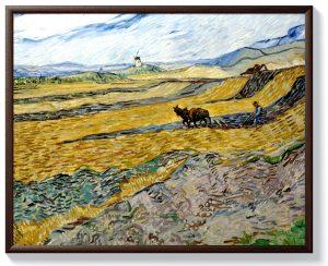 Ван Гог – Заградено поле с орач
