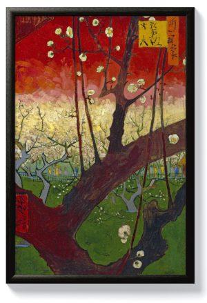 Ван Гог – Цъфтящо сливово дърво (след Хирошиге)