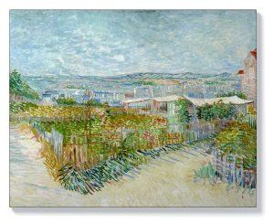 Ван Гог – Монмартър зад Мулен де ла Галет