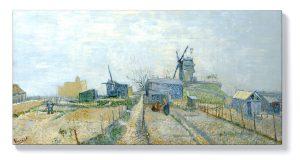 Ван Гог – Монмартър, мелници и зеленчукови градини