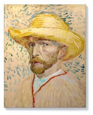 Ван Гог – Автопортрет в розово