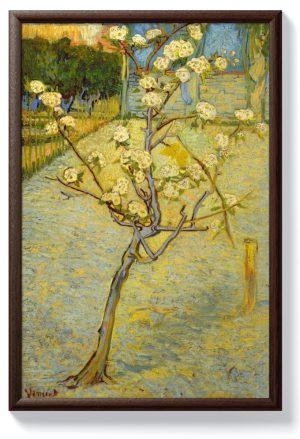 Ван Гог – Малко крушово дърво в цвят
