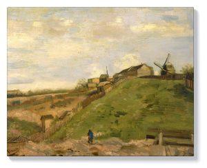 Ван Гог – хълмът на Монмартр с каменна кариера