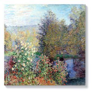 Клод Моне – Ъгъл на градината в Монжерон