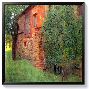 Густав Климт – Селска къща в Атерзее