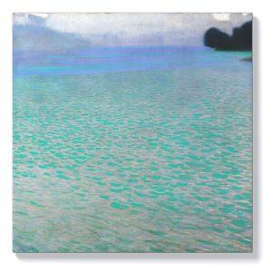 Густав Климт – На езерото Атерзее