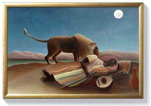 Анри Русо – Спяща циганка