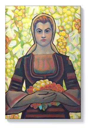 Владимир Димитров – Майстора – Млада жена с грозде